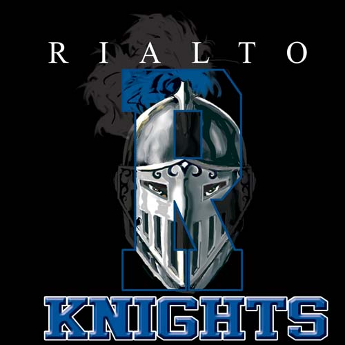 knights high school letter and mascot tee - 16, 19 Tee
