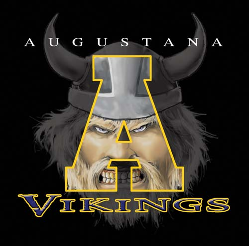 vikings high school letter and mascot tee - 16, 19 Tee