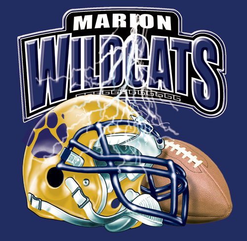 wildcats football helmet and spirit t-shirt - 6, 39 Tee