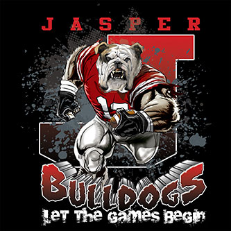 bulldogs Game Time T-shirt - 6, 27 Tee