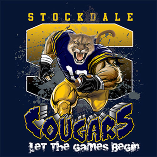 cougars Game Time T-shirt - 6, 27 Tee