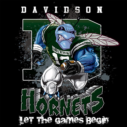 hornets Game Time T-shirt - 6, 27 Tee