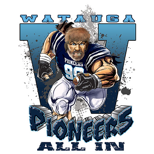 pioneers Game Time T-shirt - 6, 27 Tee