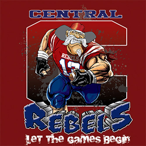 rebels Game Time T-shirt - 6, 27 Tee