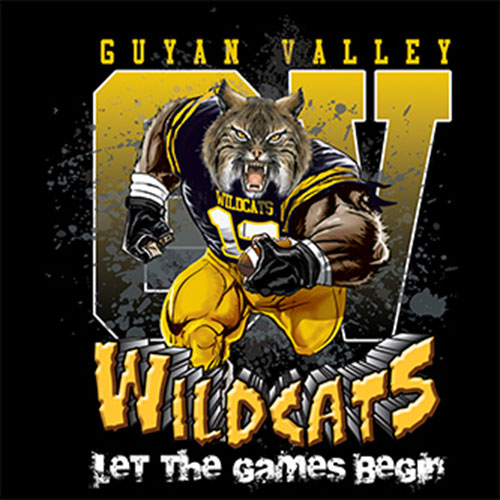 wildcats Game Time T-shirt - 6, 27 Tee
