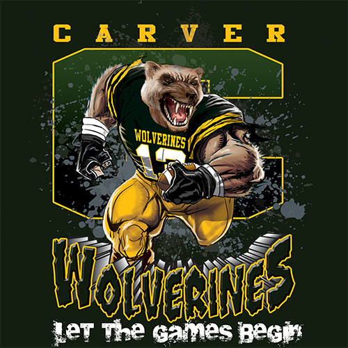 wolverines Game Time T-shirt - 6, 27 Tee