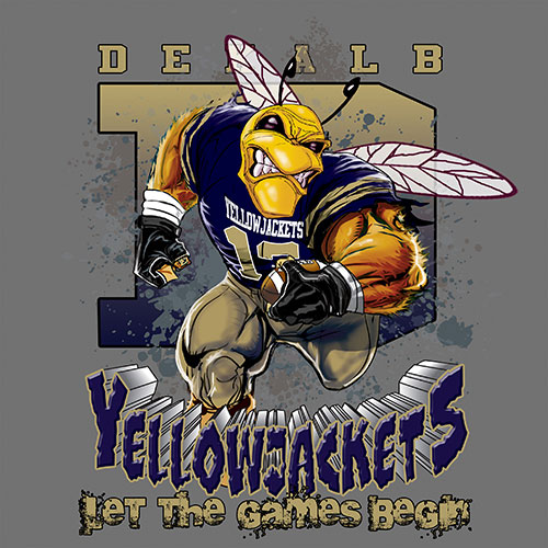 yellowjackets Game Time T-shirt - 6, 27 Tee