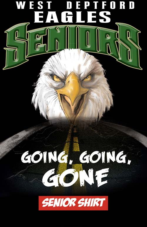 eagles senior class tee - 16, 62 Tee