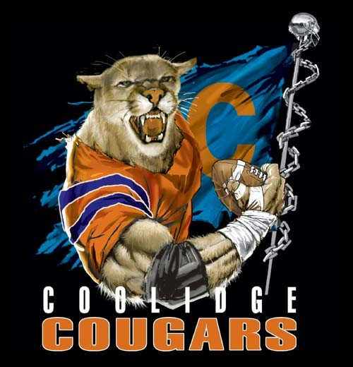 cougars football flag tee - 6, 36 Tee