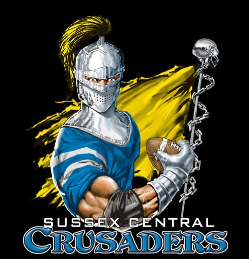 crusaders football flag tee - 6, 36 Tee