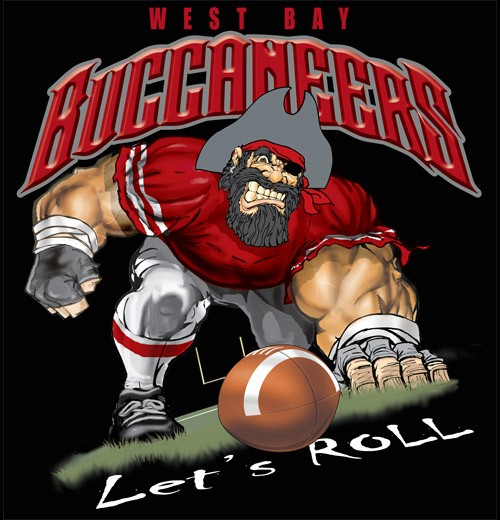 buccaneers football tee - 6, 34 Tee
