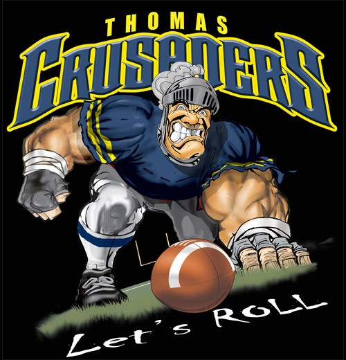 crusaders football tee - 6, 34 Tee