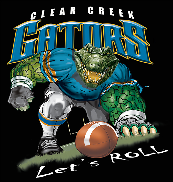 gators football tee - 6, 34 Tee