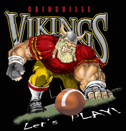 vikings football tee - 6, 34 Tee