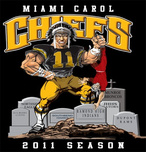 chiefs football rival tee - 6, 31 Tee