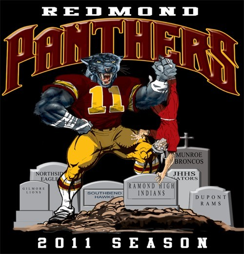 panthers football rival tee - 6, 31 Tee