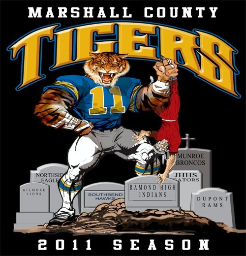 tigers football rival tee - 6, 31 Tee