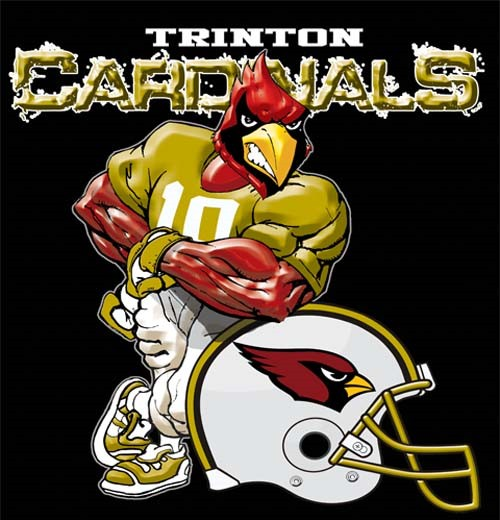 cardinals football helmet tee - 6, 30 Tee