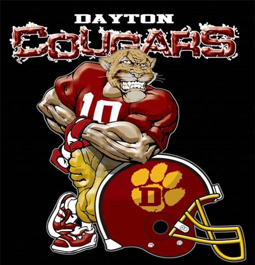 cougars football helmet tee - 6, 30 Tee