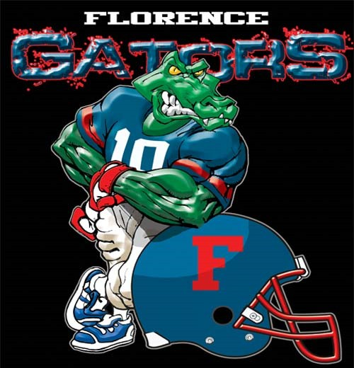 gators football helmet tee - 6, 30 Tee