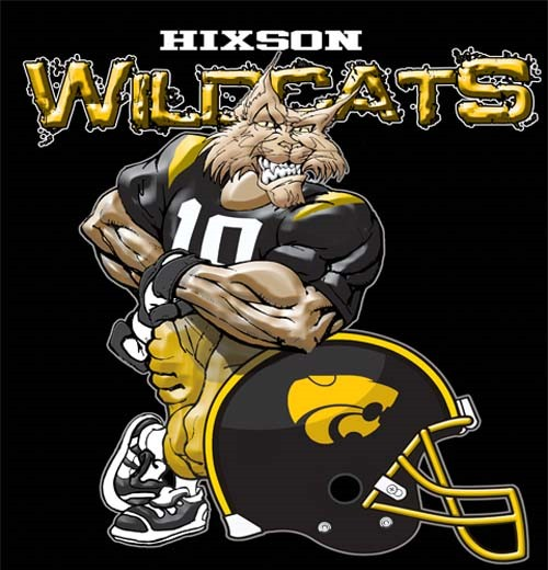 wildcats football helmet tee - 6, 30 Tee