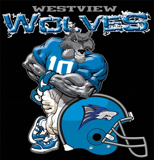 wolves football helmet tee - 6, 30 Tee