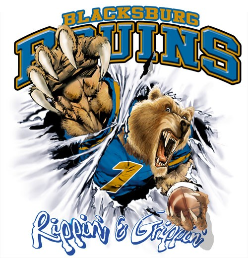 bruins football tee - 6, 35 Tee