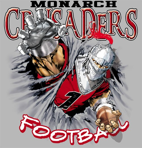 crusaders football tee - 6, 35 Tee