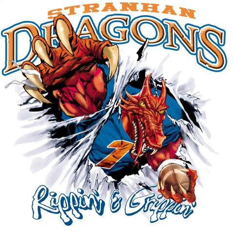 dragons football tee - 6, 35 Tee