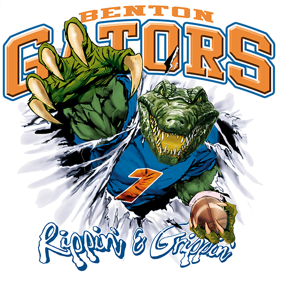 gators football tee - 6, 35 Tee