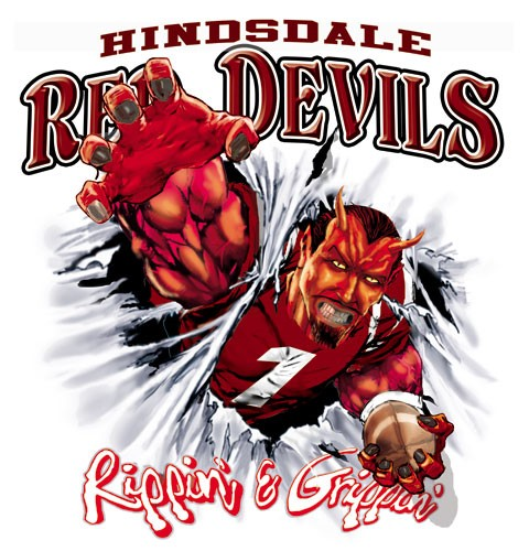 red devils football tee - 6, 35 Tee