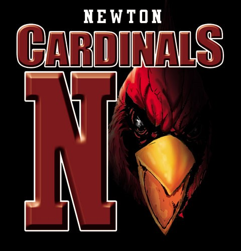 cardinals team or school spirit tee - 9, 19 Tee