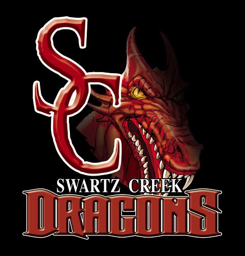 dragons team or school spirit tee - 9, 19 Tee