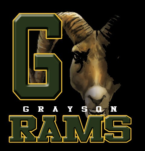 rams team or school spirit tee - 9, 19 Tee