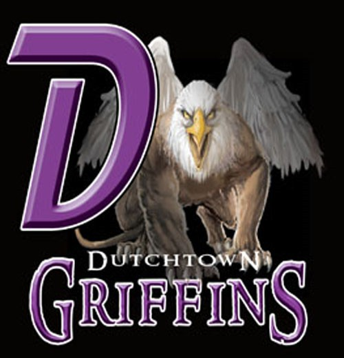 griffins team or school letters tee - 9, 58 Tee