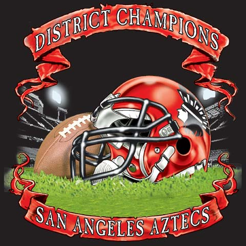 405a9ed80423 Category  Football Subcategory  Championships. Enlarge · aztecs district  game tee - 6