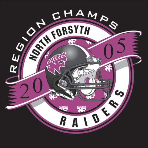 raiders football champions t shirt tee color creek chattanooga tn