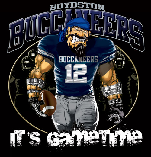 buccaneers game time football tshirt - 6, 28 Tee