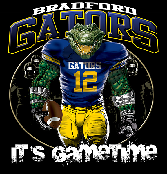 gators game time football tshirt - 6, 28 Tee