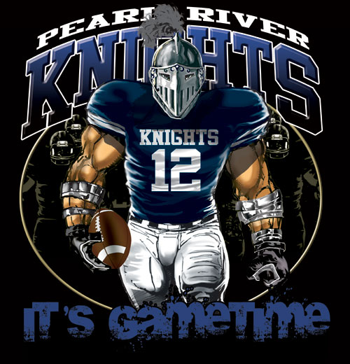 knights game time football tshirt - 6, 28 Tee
