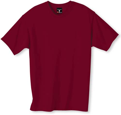 Hanes cardinal color t shirt for Cardinal color t shirts
