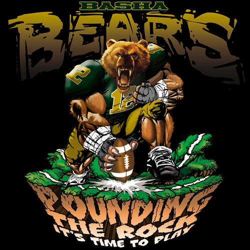 bears pounding the rock tshirt - 6, 29 Tee