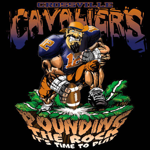 cavaliers pounding the rock tshirt - 6, 29 Tee