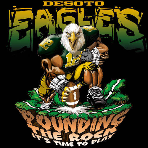 eagles pounding the rock tshirt - 6, 29 Tee