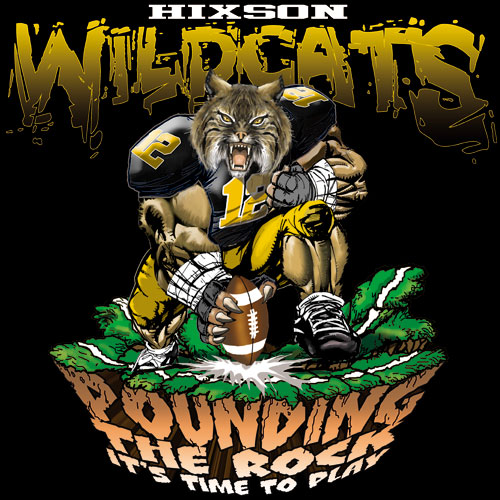 wildcats pounding the rock tshirt - 6, 29 Tee