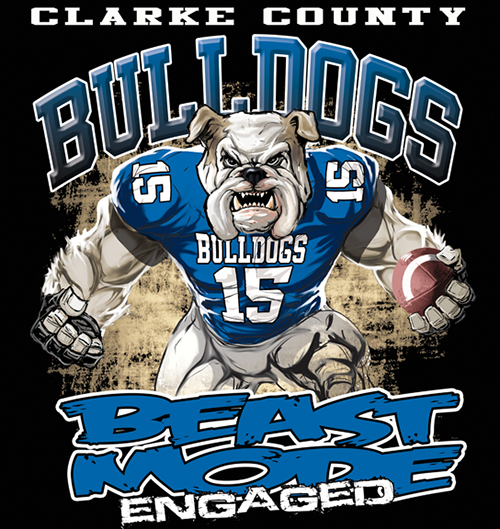 Bulldogs Beast Mode - 6, 41 Tee