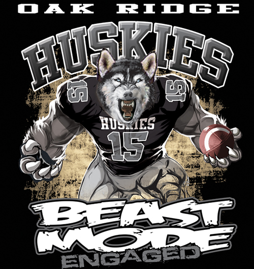 Huskies Beast Mode - 6, 41 Tee