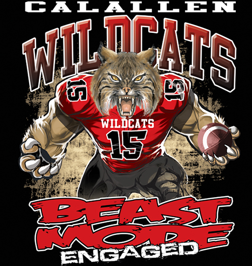 Wildcats Beast Mode - 6, 41 Tee