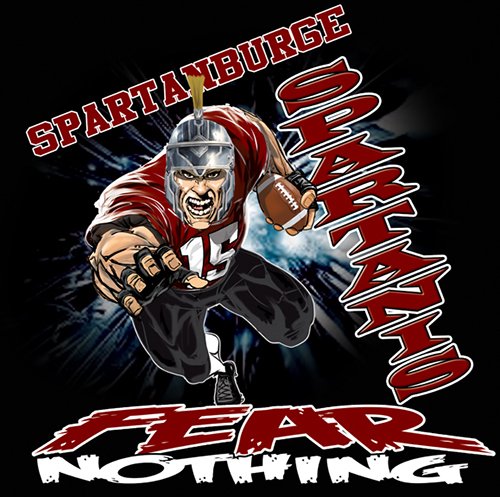 Spartans Fear Nothing Tee - 6, 42 Tee