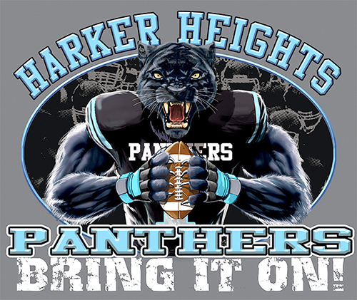 Panthers Football Bring It On! - 6, 63 Tee